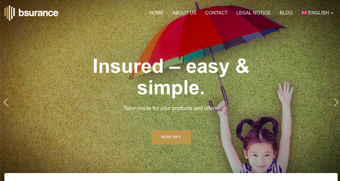 Bsurance API service in insurance